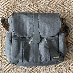 JJ COLE DIAPER BAG- backpack.  Never used!